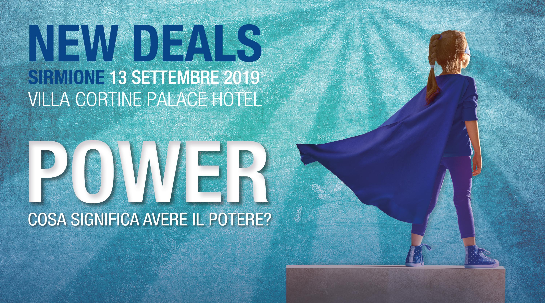 Visual New Deals Sirmione 2019 - Power. Cosa significa avere il potere?